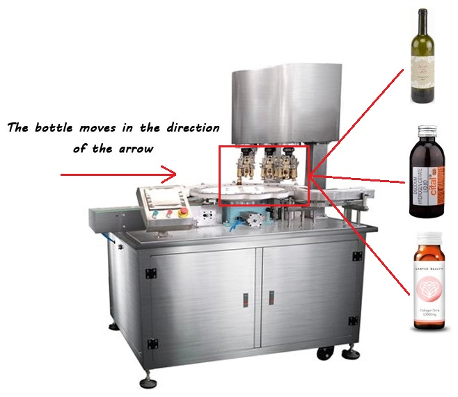 capper equipment for bottle