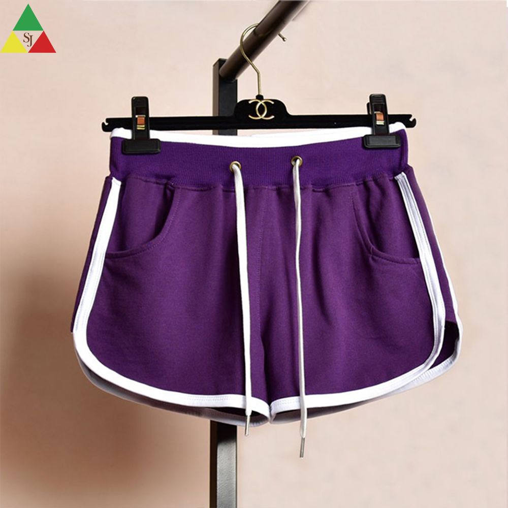 womens sweat booty sport street athletic works shorts wholesale