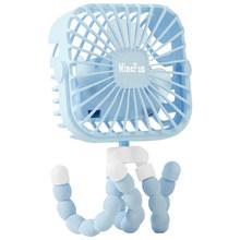 2020 мини-вентилятор для коляски, 600 мАч, персональный портативный Настольный ручной вентилятор для детской кровати, автомобильного сиденья, ...(Китай)