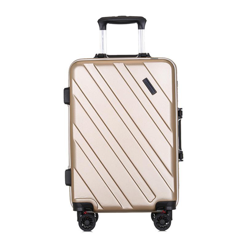 Business koffer pc aluminium rahmen 20 zoll internat männlichen und weiblichen kennwort lock universal-rad trolley student linie