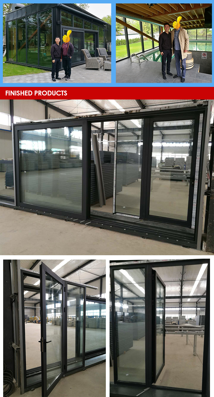 Factory direct price residential window wall systems nana kawneer