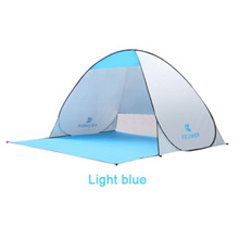 UV Lichtgewicht Waterdichte <span class=keywords><strong>Opvouwbare</strong></span> Outdoor Strand Camping Tent als Zon <span class=keywords><strong>Onderdak</strong></span> Kinderen Familie