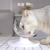 Adjustable Pet Eating Bowl Drinking Plastic Cat Feeder Puppy Bowls Water Tableware Dog Drinking Bottle