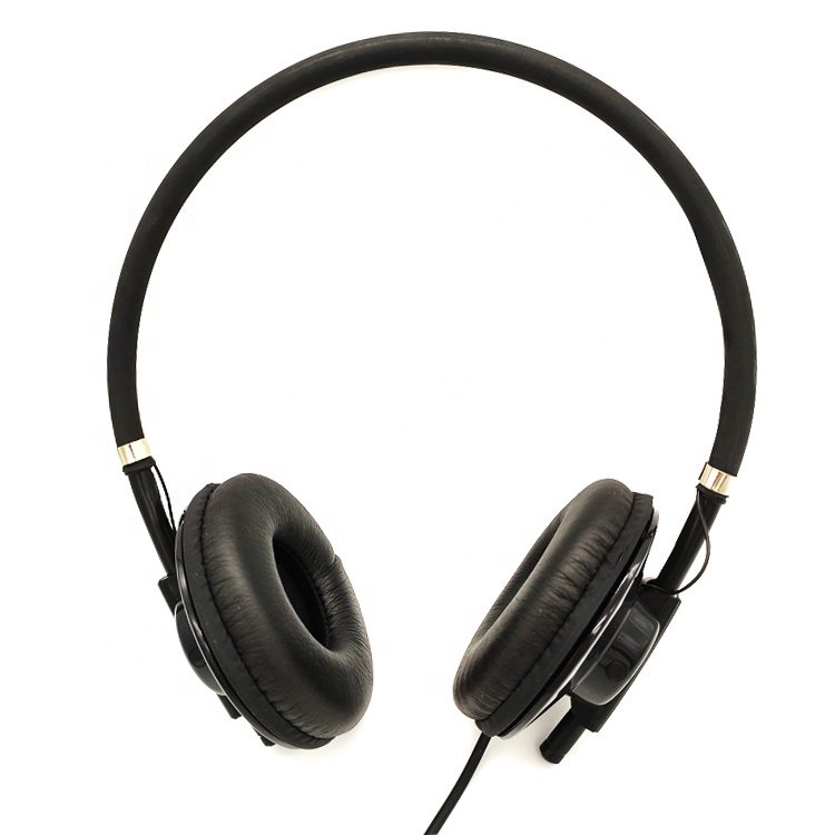 On Ear Wired Headset with Microphone Low Price Computer Headphone for Promotional Gift