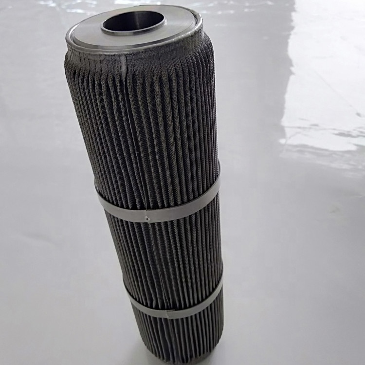 Stainless Steel Pleated Wire Mesh Filter Candle/liquid <strong>filtration</strong>