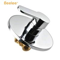 Beelee Single Function Wall Mounted Shower Mixer Brass Shower Faucet