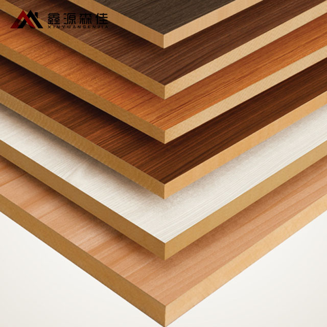 1220x2440 Melamine <strong>mdf</strong> board matt, glossy, synchronized texture finished