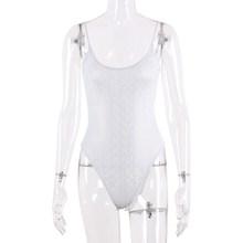 Hugcitar 2020 без рукавов принтом принт облегающий сексуальный костюм с открытой спиной весна женское Новое модное белое белый уличная одежда на...(Китай)