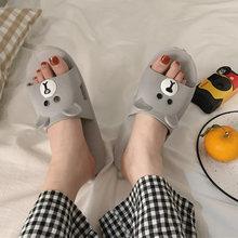 Женские тапочки из искусственной кожи с принтом животных; женская обувь; летняя разноцветная обувь на платформе для дома; Модные женские та...(Китай)