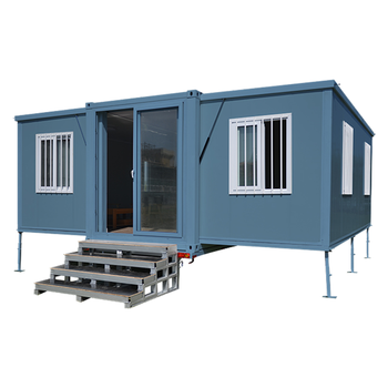 Export Prefab Expandable House Building And Prefab Containers Office ,Flat Pack Container House structural steel prefab