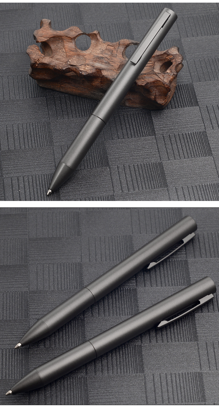 Latest New Design Black Metal Ballpoint Pen Business Promotional Gift Pen High Quality Click Pen boligrafo