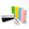 Christmas mini power bank 2600mah gift lipstick power bank portable powerbanks for phone mobile devices