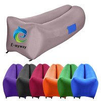Wind pouch lay bag kit inflatable air lounge sofa, inflatable air sleeping bags, laybag