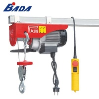 PA200A 100/200kg Capacity mini small electric wire rope hoist