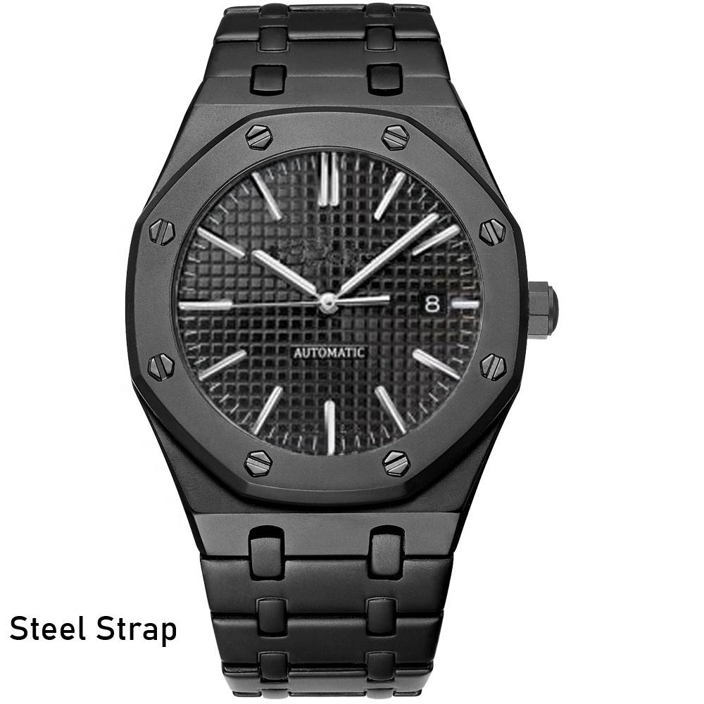 Good Performance Custom Logo Stainless Steel Wristwatches