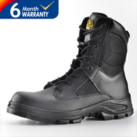 Military safety boots, safety boots steel toe, army safety boots