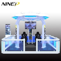 100 square meter Earn Money Customized VR Zone 9D Virtual Reality 9D VR Simulator VR Theme Park