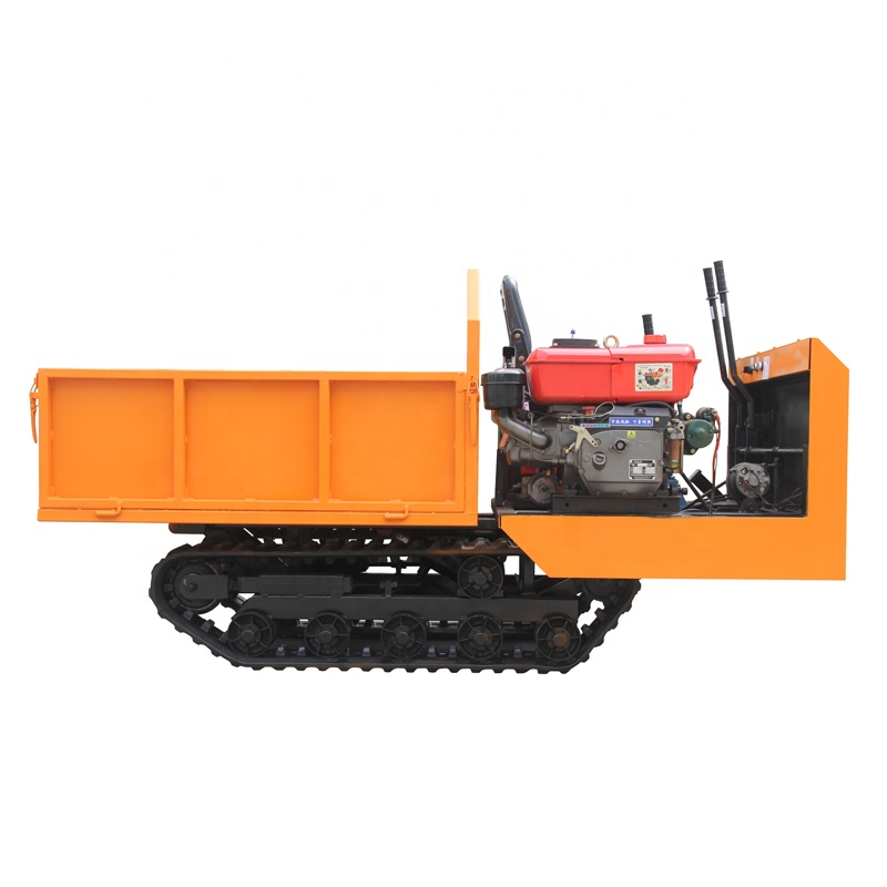 2020 hot sale track dumpers crawler carrier mini agricultural transport vehicle