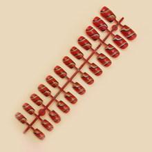 Накладные ногти 24 шт цветные накладные ногти простые и быстрые ногти подходят для профессионального салона или домашнего использования по...(Китай)