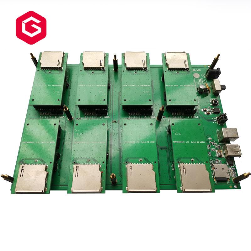 8 Port CID Reader and Change CID Machine For change CID Change progamer For SMI SD Card For Car GPS Navigation
