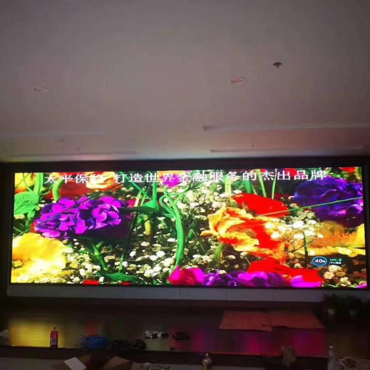 China Liefern Gute Qualität Led matrix 64x64 SMD Volle Farbe P3 Video Fixiert Indoor-LED-Display p3
