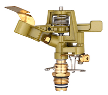 Gazon irrigatiesysteem Metalen impuls <span class=keywords><strong>sprinkler</strong></span> voor gazon, messing <span class=keywords><strong>irrigatie</strong></span> sprinklers