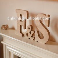 Large Wooden Letters - Personalised Word Letter Name Wedding Sign Mr & Mrs - Anniversary, Valentine's, Wedding gift