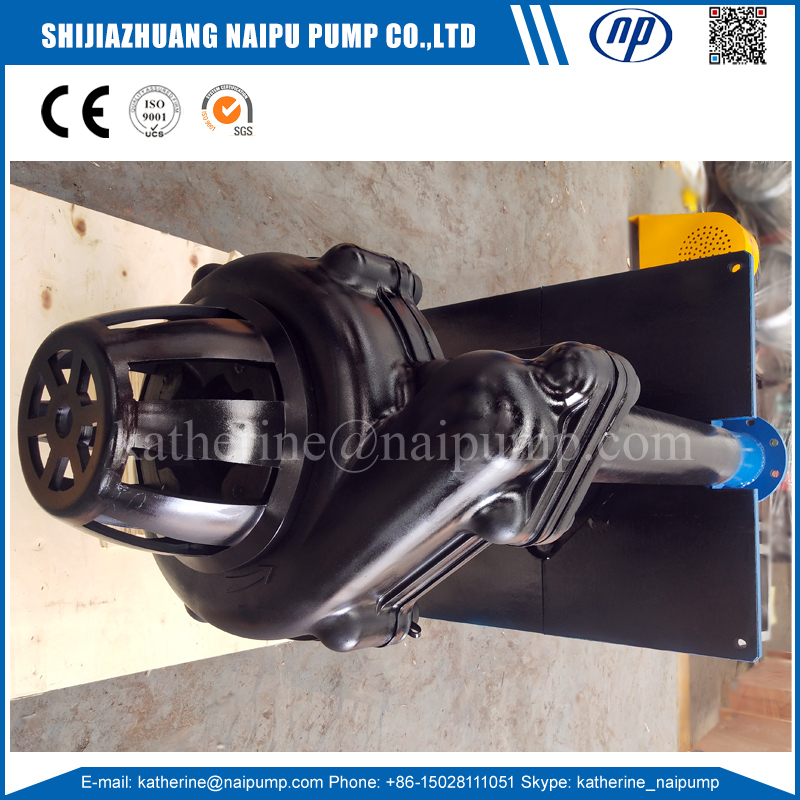 Naipu 100SV-SPR Rubber Lined Shaft Sump Pump sv sp bomba