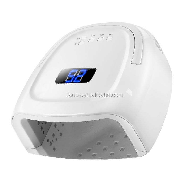 Professional Rechargeable Portable 60W UV LED Nail Lamp For Nails Salon
