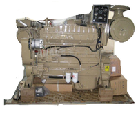 Hot sales brand new water cooling 6 cylinders cummins 80kw marine engine 6BTA5.9-GM100 for generator set