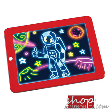 Educational Toy Creative christmas Gift for Children Magic Drawing Pad toy LED Writing Board