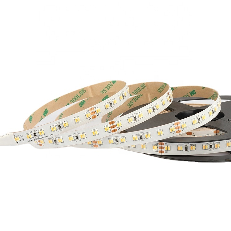 EXW price SMD3014--224LEDS/M smart dimmable profile Tunable white LED Strip light