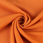 FDY Polyester spandex jersey orange types of plain knitted spandex fabric