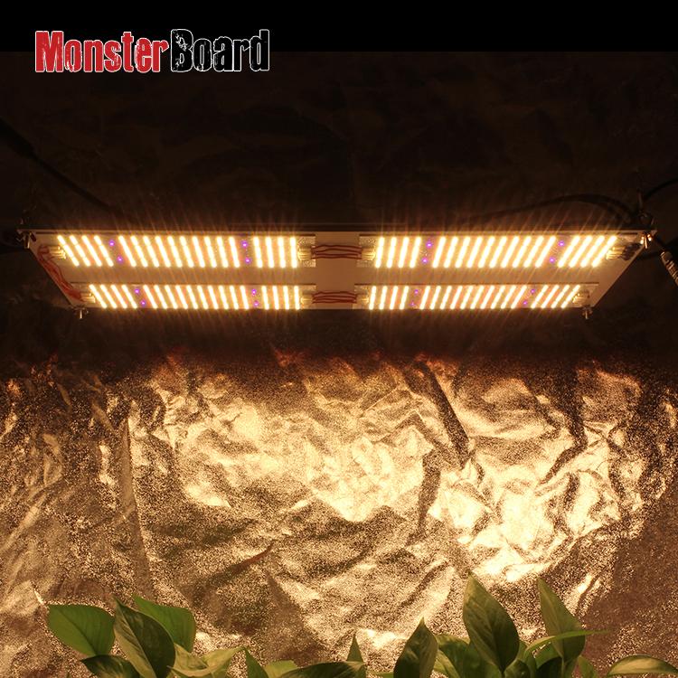 Geeklight 480w monster board v4 led grow light hydroponic 4x4 indoor farm