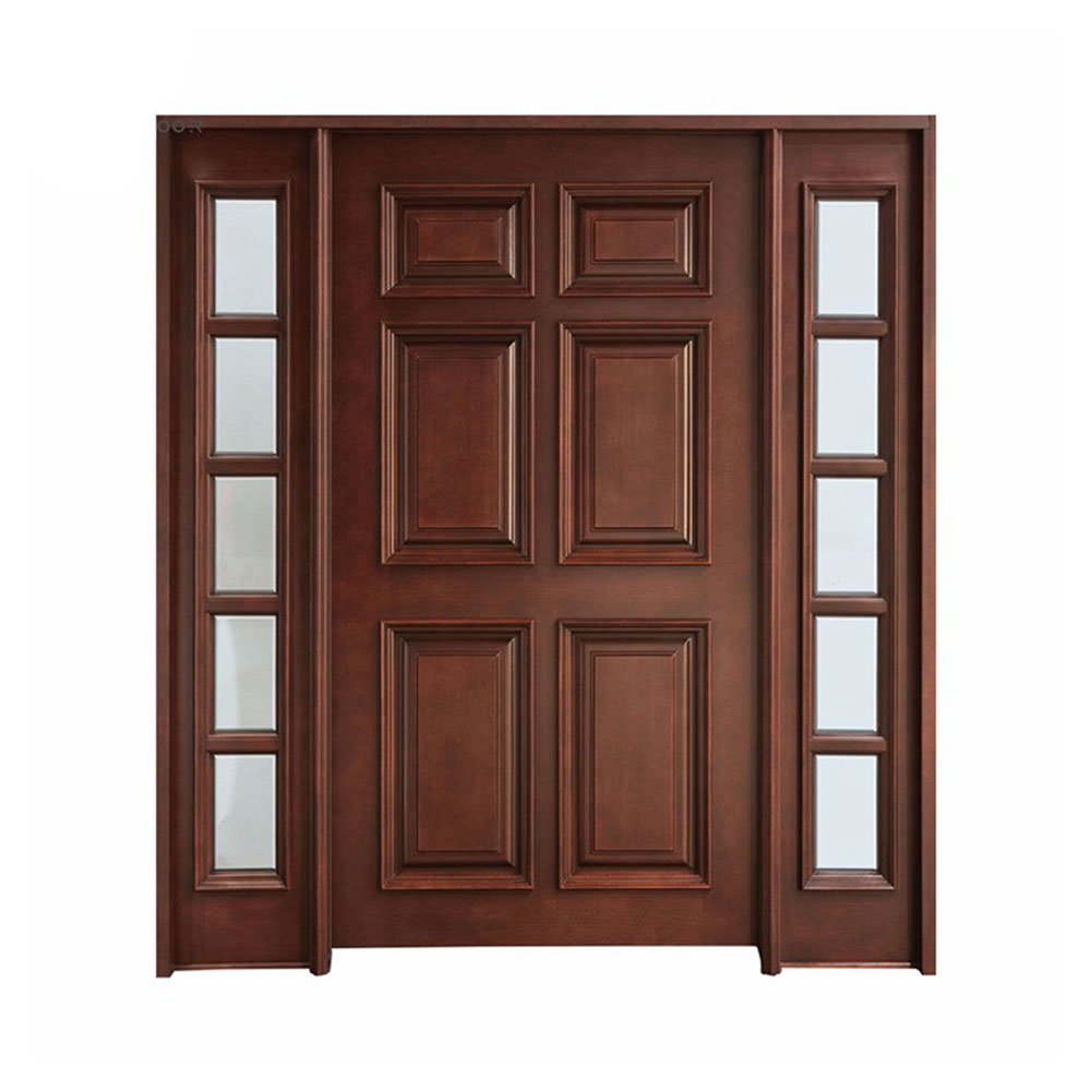 Solid Wood Front Entry Doors Exterior Double Home Product On Alibaba