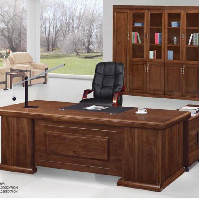 Por Wooden Office Table With Side Large Executive Desk A 616 And Chair Product On