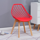 Plastic Chair Plastic Plastic Chair Suppliers Best Selling Home Furniture Wood Legs Plastic Dining Chair