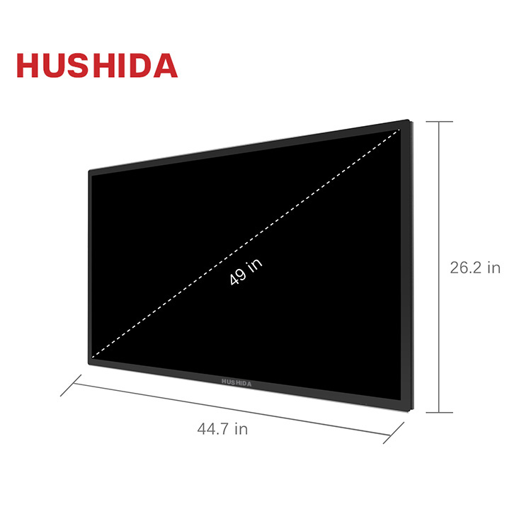 50 inch ultra wide thin touch screen monitor touch screen lcd led