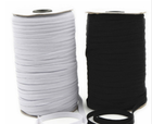 Webbing 10 Meters 3/5/6/8/10/12mm Elastic Bands Sewing Band strong elasticity White And Black DIY Handmade