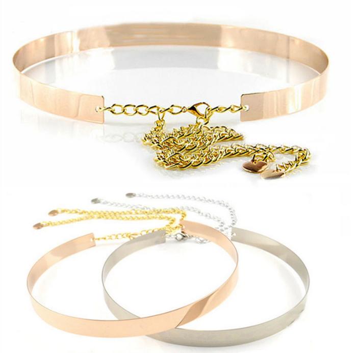 wholesale gold metal belts in stock metal belts for women