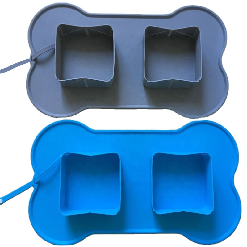 New Collapsible <strong>Dog</strong> <strong>Bowl</strong>, Eco-friendly Silicone Foldable Pet <strong>Bowls</strong>, Custom Silicone Pet Products Supplier