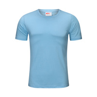 hot sale short-sleeved 100% pure cotton sports wear T-shirt