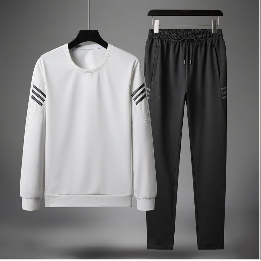 Hot Sales Competitive Price In Stock Slim Fit Mens Polyester Sweatsuit Mens Tracksuit Sportswear Jogging Suit Factory Directly
