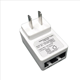 White color CN US plug wall mount type 100mbps 12W 24v 0.5a poe adapter