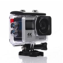 1080P HD Экшн-камера 4K сенсорный экран WiFi дистанционное управление спортивная видеокамера 30fps мини шлем Водонепроницаемая Спортивная DV камера(China)