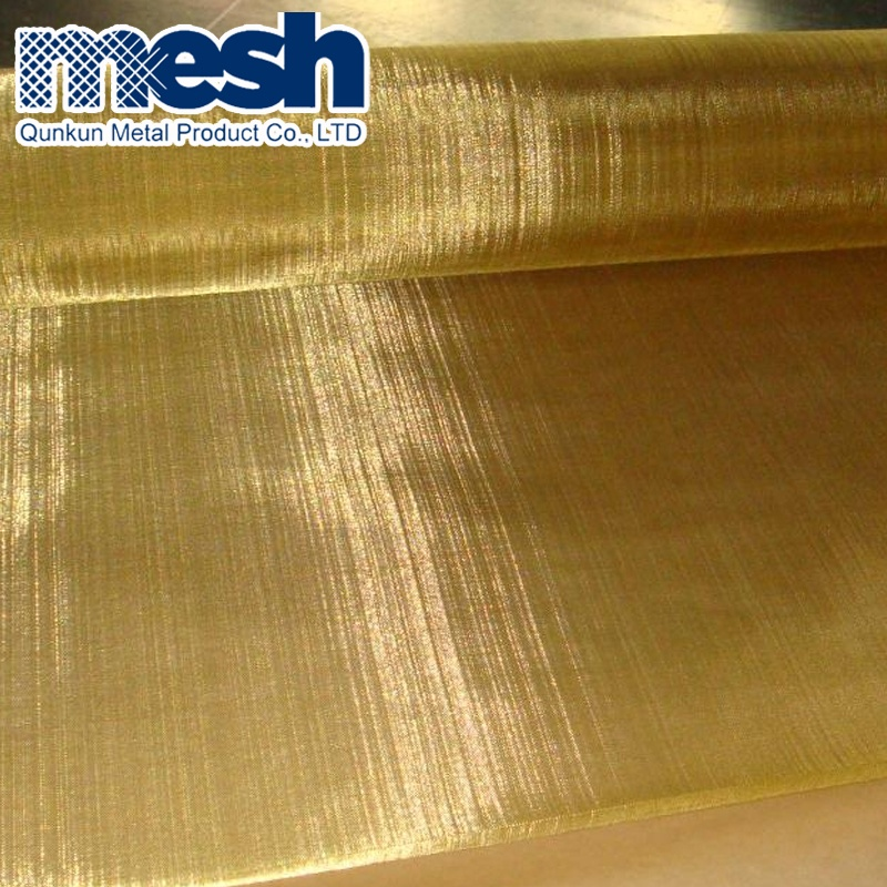 50 80 100 150 Mesh Paper Printing wire mesh screen Brass Wire Paper making filter mesh