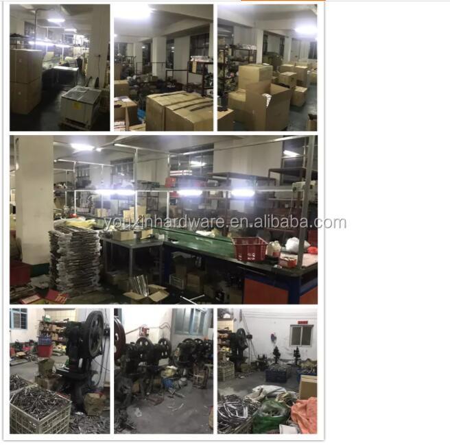 Approvisionnement d'usine en acier inoxydable Condibe 201 304 salle de douche porte en verre charnière murale