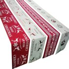 "Table For Wedding Decoration Christmas Tree Xmas Deer Snowman Table Runners 14"" X 68"" For Wedding Banquet Party Decoration"