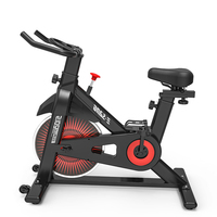 EQI Indoor Cycling Folding Magnetic Upright Bike Stationary Spinning Recumbent Exercise Bike Black