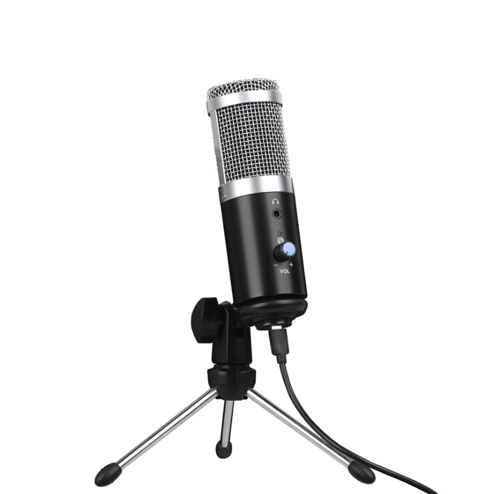 Professional monitor wired USB microphone studio podcast microphone